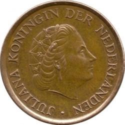 Moneta > 5cents, 1950-1980 - Paesi Bassi  - obverse