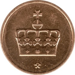 Монета > 50ере, 1996-2011 - Норвегія  - obverse