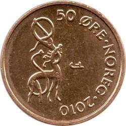 Монета > 50ере, 1996-2011 - Норвегія  - reverse