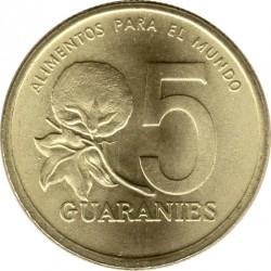 Moneta > 5gvaraniai, 1992 - Paragvajus  - reverse