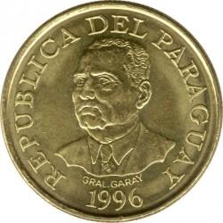 מטבע > 10גואראני, 1996 - פרגוואי  - obverse