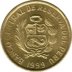 Moneta > 1centesimo, 1991-1999 - Perù  - obverse