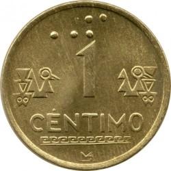 Monēta > 1sentimo, 1991-1999 - Peru  - reverse