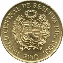 Moneta > 1centym, 2001-2006 - Peru  - obverse