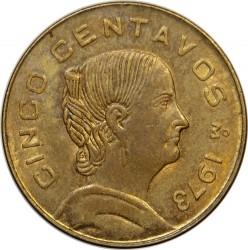 Νόμισμα > 5Σεντάβος, 1970-1976 - Μεξικό  - reverse