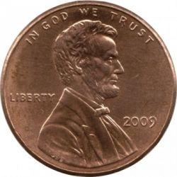 Moneda > 1centavo, 2009 - Estados Unidos  (200 aniversario del nacimiento de Abraham Lincoln - Vida profesional en Illinois) - obverse