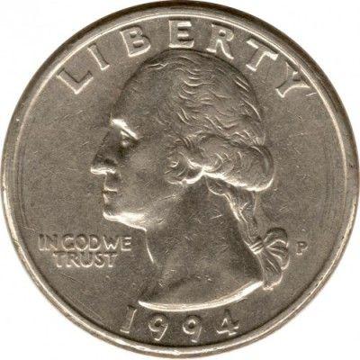 ¼ dollar 1965-1998, USA - Coin value - uCoin net