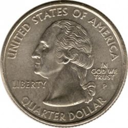 Coin > ¼ dollar, 2002 - USA  (Tennessee State Quarter) - obverse