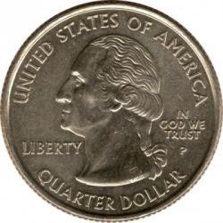 Coin > ¼dollar, 2002 - USA  (Ohio State Quarter) - obverse