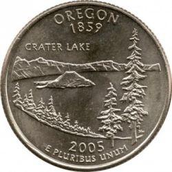 Moneda > ¼dólar, 2005 - Estados Unidos  (Estado de Oregón) - reverse