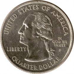 Кованица > ¼долара, 2005 - Сједињене Америчке Државе  (Kansas State Quarter) - obverse