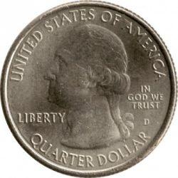 Монета > ¼доллара, 2011 - США  (Национальный парк Виксбург) - obverse