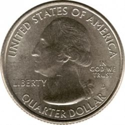 Coin > ¼ dollar, 2012 - USA  (Denali National Park Quarter) - obverse