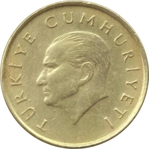 Coin 100 Lira 1988 1996 Turkey Obverse