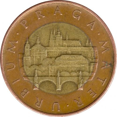 50 Kronen 1993 2018 Tschechische Republik Münzen Wert Ucoinnet