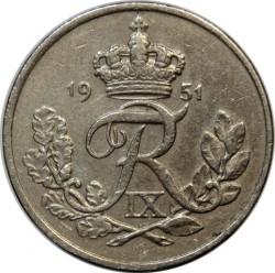 Νόμισμα > 10Ορ, 1948-1960 - Δανία  - obverse