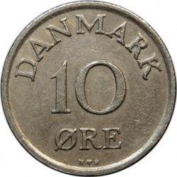 Νόμισμα > 10Ορ, 1948-1960 - Δανία  - reverse