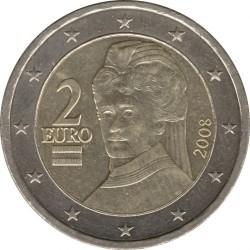 Coin > 2euro, 2008 - Austria  - obverse
