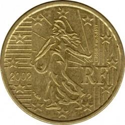 سکه > 10سنت, 1999-2006 - فرانسه  - obverse
