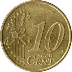 سکه > 10سنت, 1999-2006 - فرانسه  - reverse