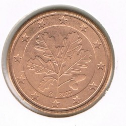 Coin > 5 euro cent, 2003 - Germany  - obverse