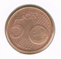 Coin > 5 euro cent, 2003 - Germany  - reverse