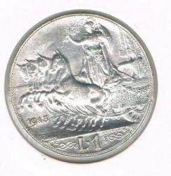 Moneta > 1lira, 1908-1913 - Italija  - obverse
