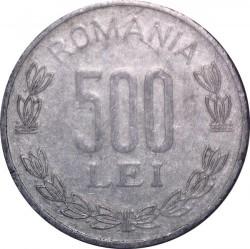 Monēta > 500leju, 1999-2006 - Rumānija  - reverse