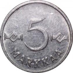 Münze > 5Mark, 1957 - Finnland  - reverse