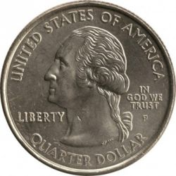 Coin > ¼ dollar, 2000 - USA  (Massachusetts State Quarter) - obverse