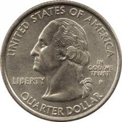Кованица > ¼долара, 2000 - Сједињене Америчке Државе  (South Carolina State Quarter) - obverse