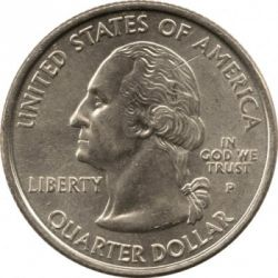Coin > ¼dollar, 2000 - USA  (South Carolina State Quarter) - obverse