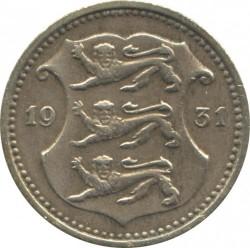 Munt > 10senti, 1931 - Estonië  - obverse