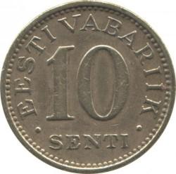 Munt > 10senti, 1931 - Estonië  - reverse