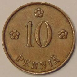 Münze > 10Penny, 1940 - Finnland  - reverse