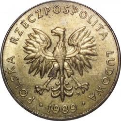 Кованица > 10злота, 1989-1990 - Пољска  - obverse