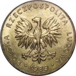 Кованица > 10злота, 1989-1990 - Пољска  - reverse
