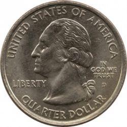 Кованица > ¼долара, 2001 - Сједињене Америчке Државе  (New York State Quarter) - obverse