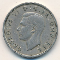 Coin > 2shillings(florin), 1950 - United Kingdom  - reverse