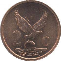 Moneta > 2centy, 2000-2001 - Afryka Południowa  - reverse