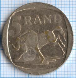 Moneta > 5randów, 1996-2000 - Afryka Południowa  - reverse