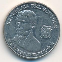 Moneta > 10sentavų, 2000 - Ekvadoras  - reverse