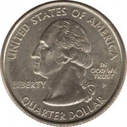 سکه > ¼دلار, 2003 - ایالات متحده آمریکا  (Illinois State Quarter) - obverse