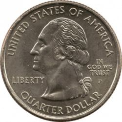 العملة > ¼دولار, 2003 - الولايات المتحدة الأمريكية  (Maine State Quarter) - obverse
