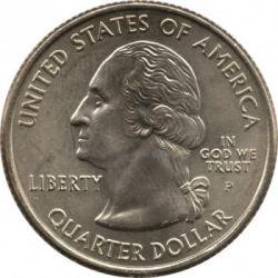Монета > ¼долар, 2003 - САЩ  (Arkansas State Quarter) - obverse