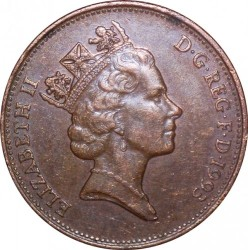 Coin > 2 pence, 1993 - United Kingdom  - reverse