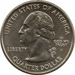 Monēta > ¼dolārs, 2004 - ASV  (Michigan State Quarter) - obverse