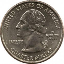 Кованица > ¼долара, 2004 - Сједињене Америчке Државе  (Wisconsin State Quarter) - obverse