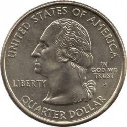 Кованица > ¼долара, 2005 - Сједињене Америчке Државе  (California State Quarter) - obverse