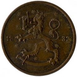 Münze > 5Penny, 1932 - Finnland  - reverse